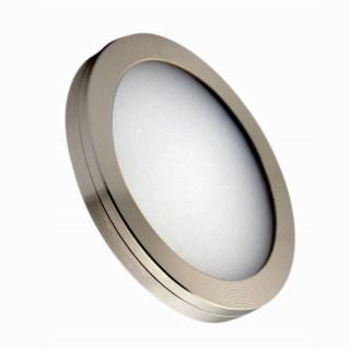 LED圆形橱柜衣柜灯12V低压航空铝材无眩光无光斑磁铁明装21pcs/24pcs