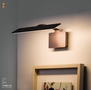 新特丽蜻蜓客厅卧室壁灯艺术个性照画灯 13W 3000k 家居