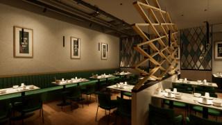餐饮店-就餐区-装饰型