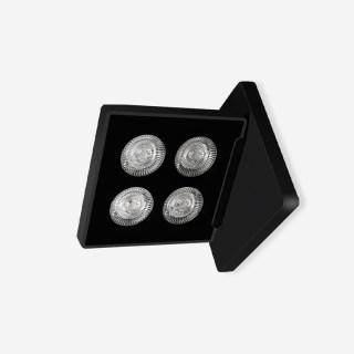 inlight SLIM纤美WLS超薄方形防眩高显可调角度壁灯 壁面安装12W 3000k/4000k
