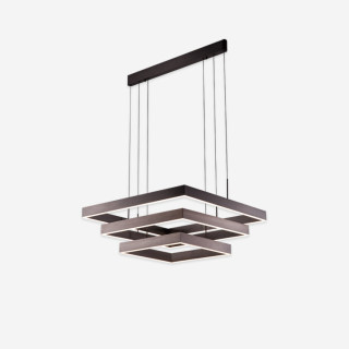天际系列艺术吊灯客厅餐桌装饰三方框型吊灯