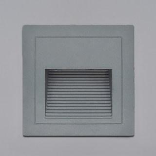 精灵系列非对称配光防眩方形壁灯地脚灯 80lm 嵌入式开孔75*75mm 2.2w 3000k