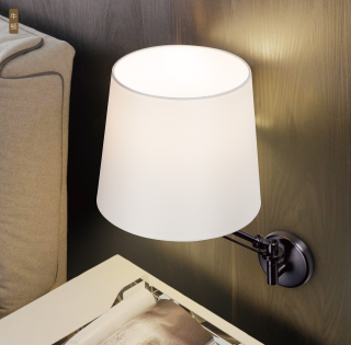牛顿艺术可移动灯头壁灯 壁面安装 3000k 客厅卧室床头