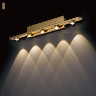 光粼艺术壁灯装饰镜前灯 壁面安装6.5w/9w/14.5w 3000k 家居客厅卧室