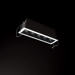 莱沃 Linewashe格栅线型高显防眩多头洗墙灯 嵌入式 2w/4w/10w/20w/30w 3000k/4000k