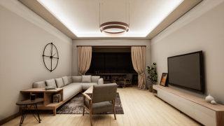 家居-客厅-主灯设计