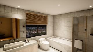 家居-卫生间-无主灯设计