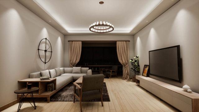 家居-客厅-场景化设计
