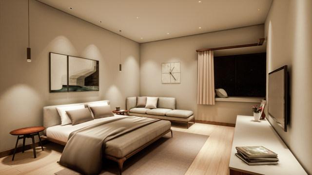 卧室场景化灯光设计方案