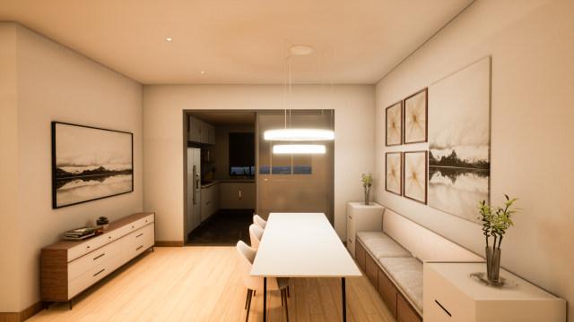 家居-餐厅-主灯设计