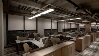 办公区功能型灯光设计方案