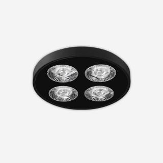SLIM纤美CS超薄圆形防眩高显射灯 吸顶安装12W 3000k/4000k