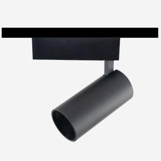 FOCUS X 福克斯X/三线导轨灯射灯/深防眩/20W/高显色轨道射灯/黑色/n内黑外钛