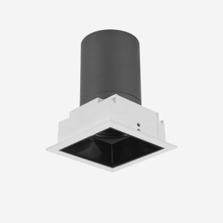 雅致系列深藏防眩定向下照格栅可拼接射灯 嵌入式开孔67*67mm 7W 家居