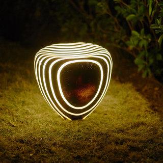 ZEBRA 斑马石庭院花园装饰草坪灯 地面安装3W