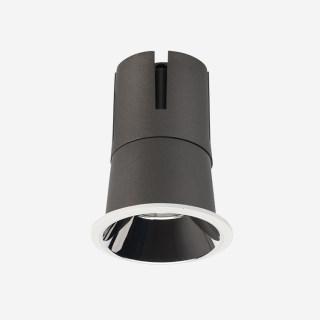 赫拉系列下照圆形敞口高显防眩可调光射灯 嵌入式40mm~85mm 5W/7W/9W/15W