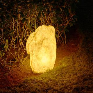 STONE 金色石头庭院花园装饰草坪灯 地面安装 3w/15w