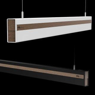 高端上下出光线型吊灯 18w/36w/24w+12w 3000k/4000k 办公室会议室餐厅