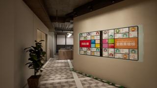 发布墙均匀型灯光设计方案