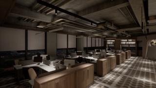 办公区专注型灯光设计方案