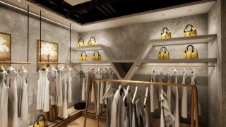 层板区层板线性照明型灯光设计方案