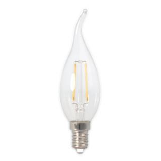 LED烛泡直灯丝灯BXS35透明拉尾4.5W/E14/2700K/470lm/