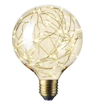 星星灯LED G125铜线灯G125金色E27/2700K/40lm