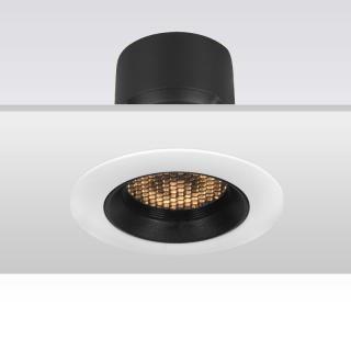 KAKA HS006 家居商业天花嵌入式射灯 开孔75mm 可调角 8W/12W