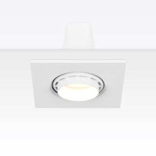 KAKA DW005B-1 方形面板经济型嵌入式射灯  RA90  开孔尺寸90mm 8W/12W