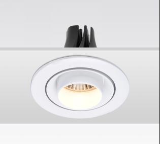 KAKA DW065-A 圆形可调角度嵌入射灯 RA90 开孔尺寸95mm 12W/18W